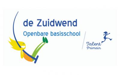 Eigentijdse logo's voor de Zuidwend en de Curtevenneschool