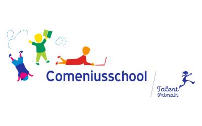 Logo Comeniusschool verbeeldt leertraject