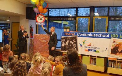 De Comeniusschool in Naarden bestaat 100 jaar!